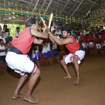 30 Days Kalaripayattu, Meditation and Horse Riding Retreat in Kerala India. Kadathanadan Kalari Sangam, Wayanad