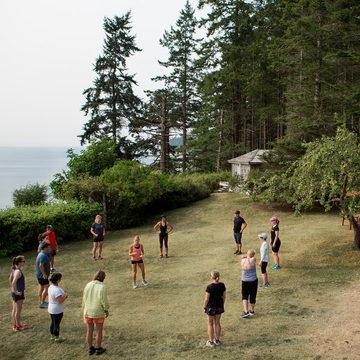 Running with Balance, Mindfulness & Strength
