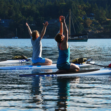 SUP Yoga: Breathe, Stretch, Float
