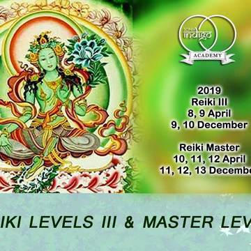 Reiki 3 Level Certification