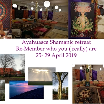 "Ayahuasca Shamanic 5 days retreat - ""Remember who you (really) Are"""