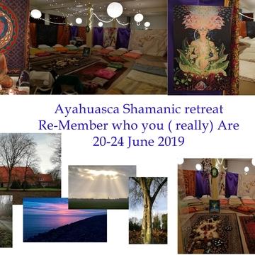 "Ayahuasca Shamanic 5 days retreat - ""Remember who you (really) Are"""