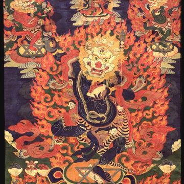 The Lion-Headed Dakini (Simhamukha)