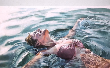 'Painting the Figure in Watercolor' & 'The Figure Submerged in Water' with Marcos Beccari