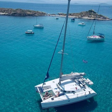 Athens Mystical Triangle Sailing Retreat  on a Catamaran Greece (May to Nov 2019)