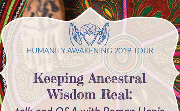 New York City, NY: Keeping Ancestral Wisdom Real [Talk and Q&A with Roman Hanis]