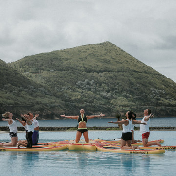 6 Day SUP Yoga Retreat in Azores, Portugal