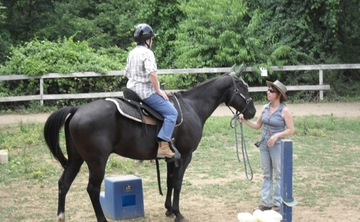 Yoga of Horsemanship with Cathy Woods at Coffee Creek Ranch