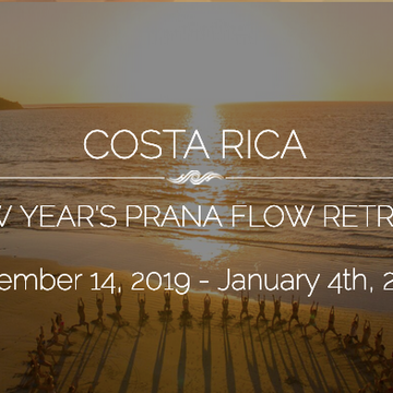 COSTA RICA:  Sol Revival – Living Prana Flow