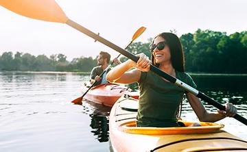 Yoga and Kayaking – June