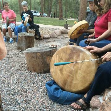Spring Equinox Full Moon Drum Circle