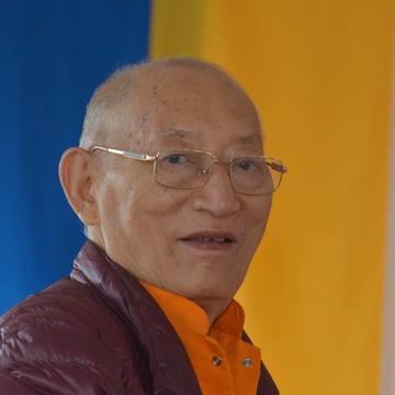 Khenchen Rinpoche Drupon Trinley Paljor