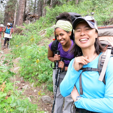 Women of Color Wilderness Retreat