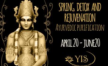 Spring detox and rejuvenation. Ayurvedic retreat