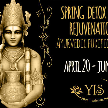 Spring detox and rejuvenation. Ayurvedic retreat