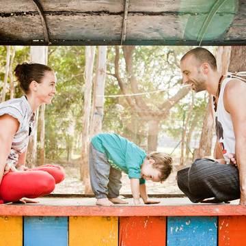 Dynamic Yoga retreat with Julie and Knut Rakus