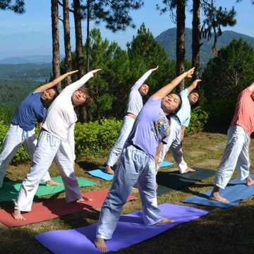 Sivananda Yoga Resort and Training Center in Da Lat, Vietnam