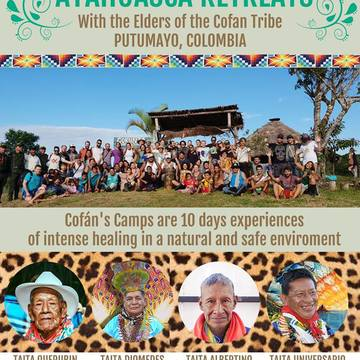 6th YageOsoCofan Camp for ancient healing with sacred and traditional Yage Medicine (Ayahuasca from Putumayo,Colombia).