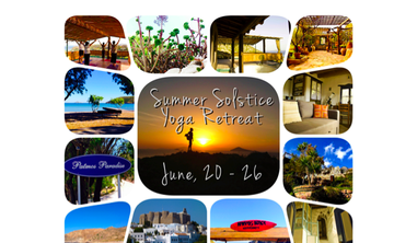 Summer Solstice Yoga Retreat on Patmos Island/Greece June 20 - 26th