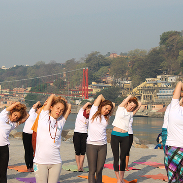 29 Days 200-Hour Scholarship Yoga Teacher Training in Rishikesh, India