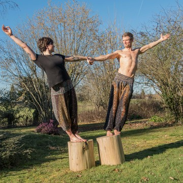 Journey through the Chakras - intense fitness & yoga bootcamp in rural France