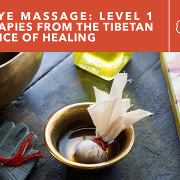 KuNye Tibetan Massage Level 1 Training: Therapies From the Tibetan Science of Healing