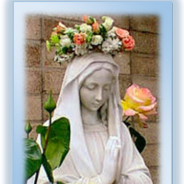 """A Day with Our Blessed Mother…Mary, the """"Queen of May"""""""