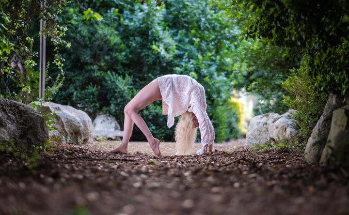 What does it really mean to slow down? Yoga in Salento