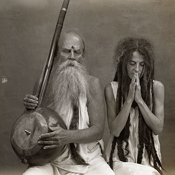 Baba Bhagavan Das and Sharada Devi
