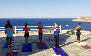 5* Luxury Yoga Retreat Mykonos Greece: 18-25 May 2019