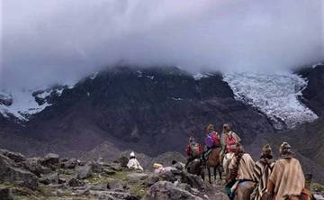 Spiritual Trek to the Sacred Mountain Ausangate, incl. hot springs and San Pedro ceremony