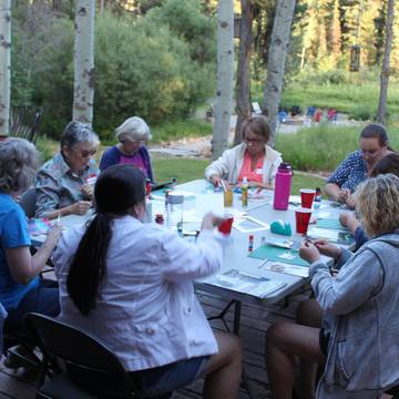 Replenish   Rejuvenate   Reignite an experience to support, nourish and honor widows and widowers
