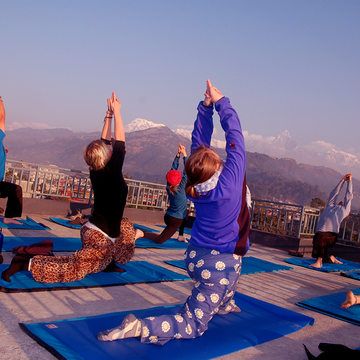 Mountain Yoga Retreat in Nepal