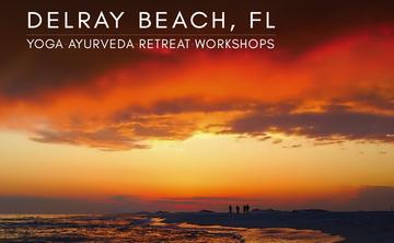 Delray Beach Florida Yoga and Ayurveda-  April 15-19, 2016