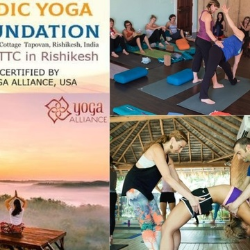 100 Hour Yoga TTC in Rishikesh, India