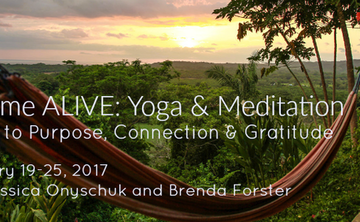 BEcome ALIVE: Yoga & Meditation- A Path to Purpose, Connection & Gratitude
