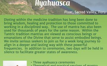 Mantra Dieta with Ayahuasca  - Gayatri Mantra