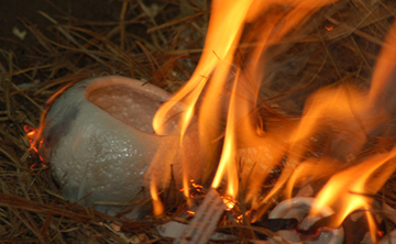 Being the Bowl:  One Total Activity in Clay with Raku Firing