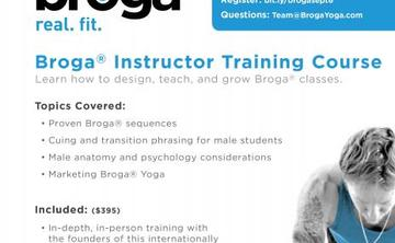 Broga® Yoga Instructor Training