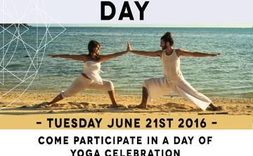 Free International Yoga Day at Agama Yoga Thailand
