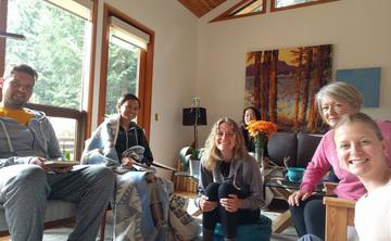 Art of Living Retreat - BOWEN ISLAND, BRITISH COLUMBIA (yoga, detox, raw food, meditation, transformation)