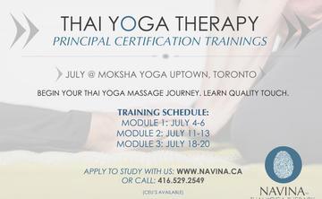 Thai Yoga Massage Certification Modules