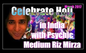 Sacred trip to India with Psychic Medium Riz Mirza