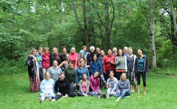Back to Nature Women's Yoga Retreat in Oregon, July 2017: Session 1
