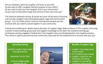 Certified Laughter Yoga Leader Training & Retreat