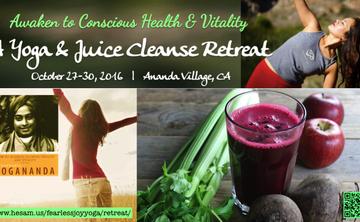 A 3-Day Yoga & Juice/Ayurvedic Cleanse Retreat