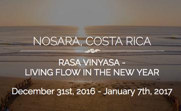 Rasa Vinyasa – Living the Flow in the New Year (week 3)