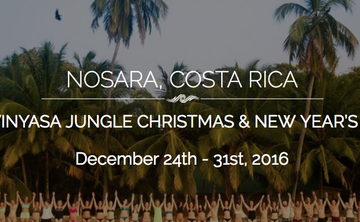 Prana Vinyasa Jungle Christmas and New Years Retreat (week 2)