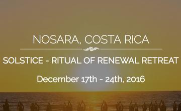 Solstice Ritual of Renewal Retreat (week 1)