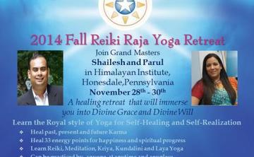 Reiki Raja Yoga - 2014 Fall Retreat